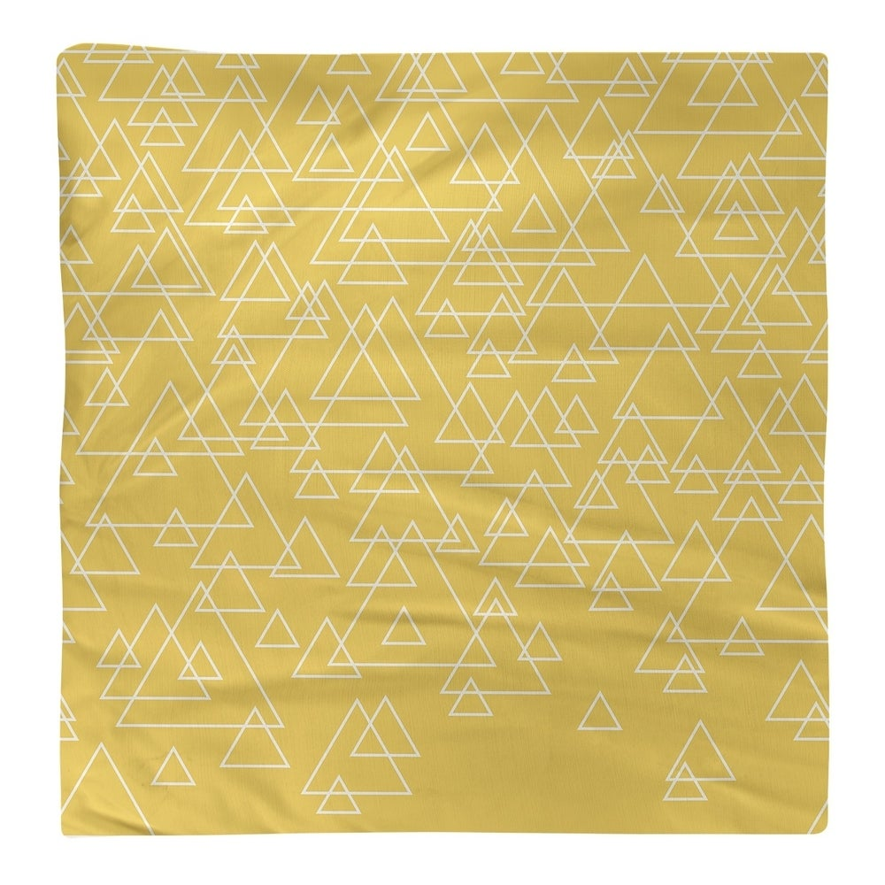 Shop Scattered Triangles Napkin - Overstock - 28527863