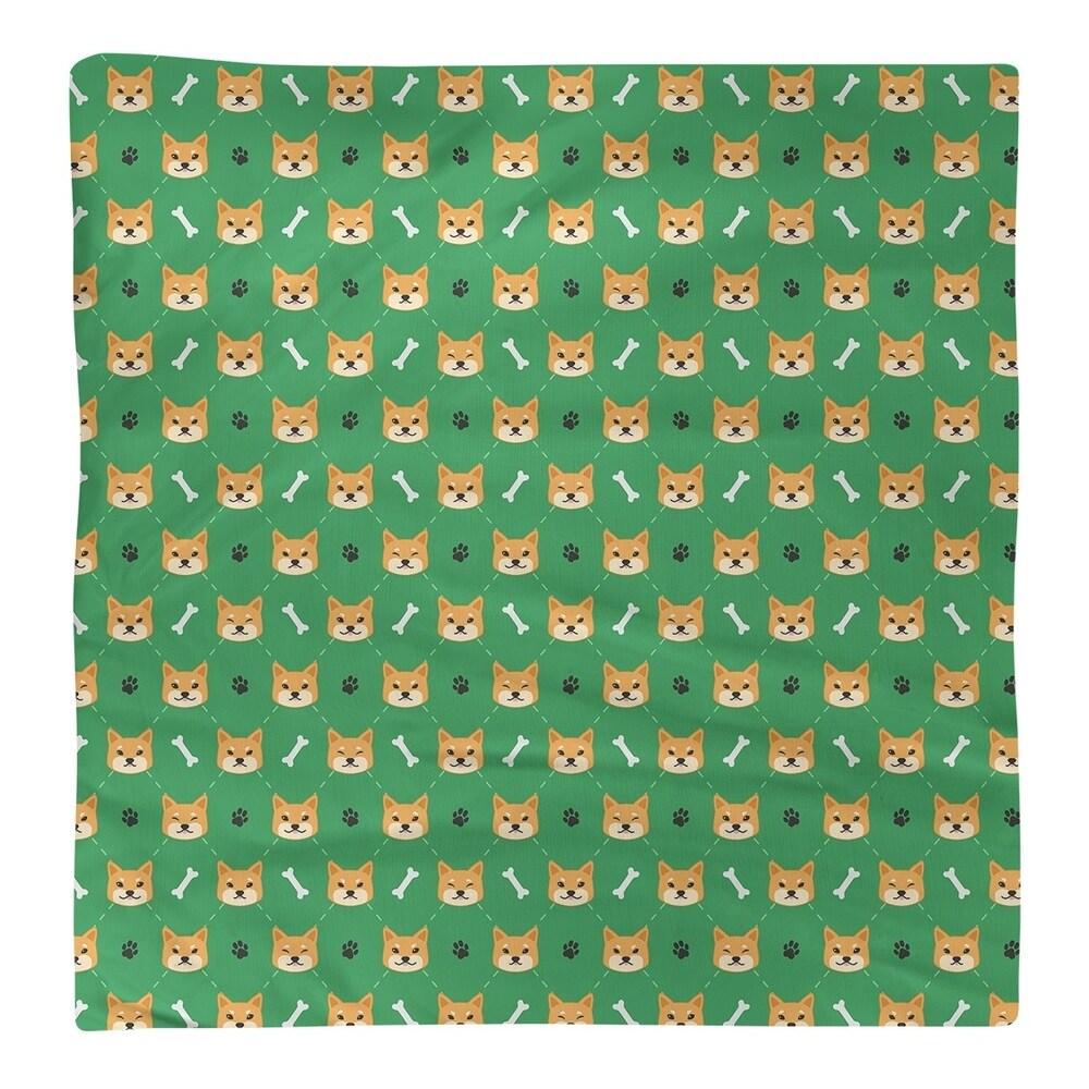 Shop Shiba Inu Pattern Napkin - Overstock - 28527865