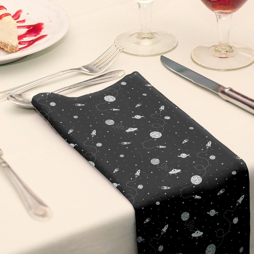 Shop Outer Space Pattern Napkin - Overstock - 28527868