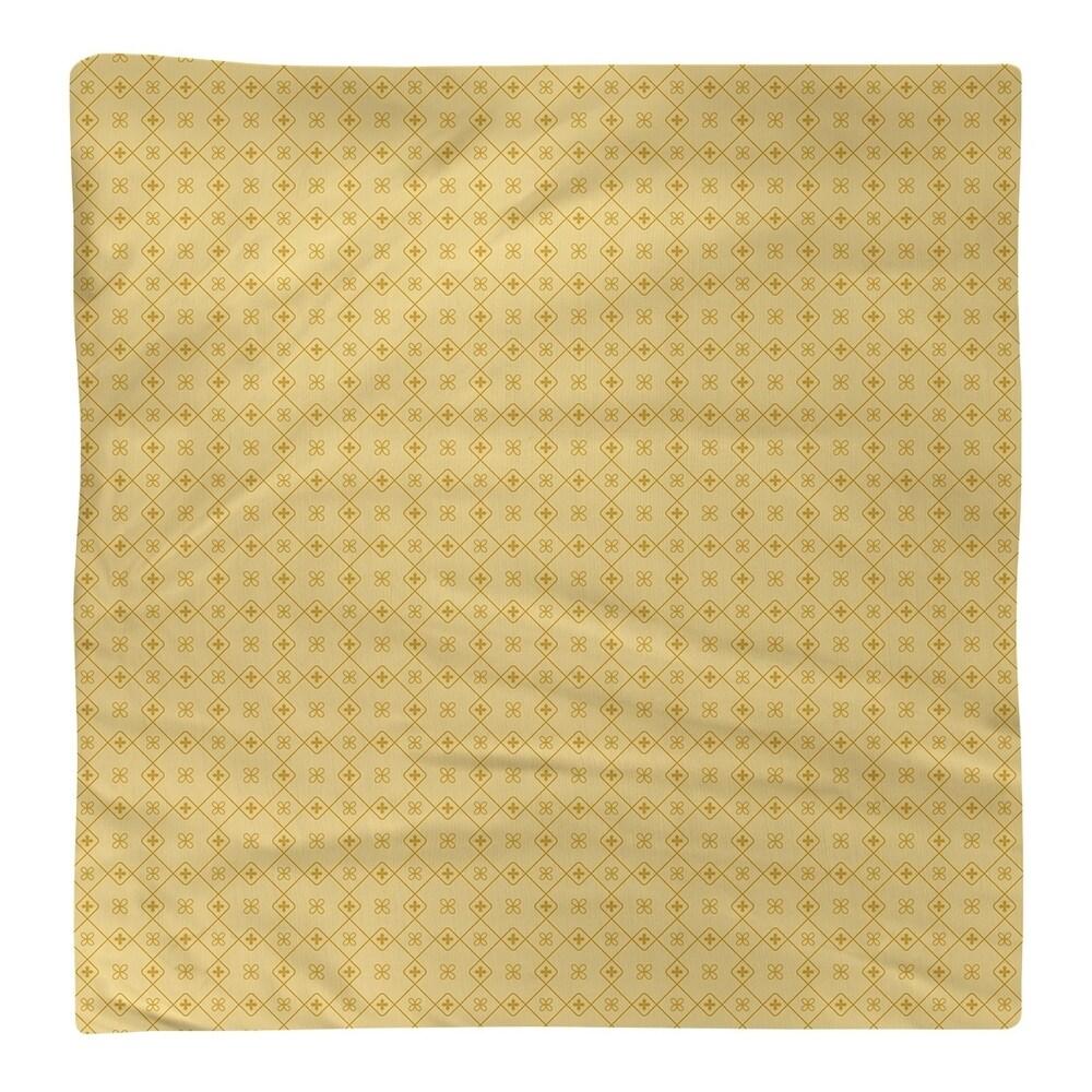 Shop Monochrome Doily Pattern Napkin - Overstock - 28527880