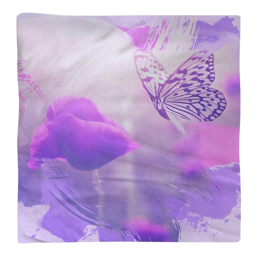 Shop Classic Butterfly and Rose Napkin - Overstock - 28527889