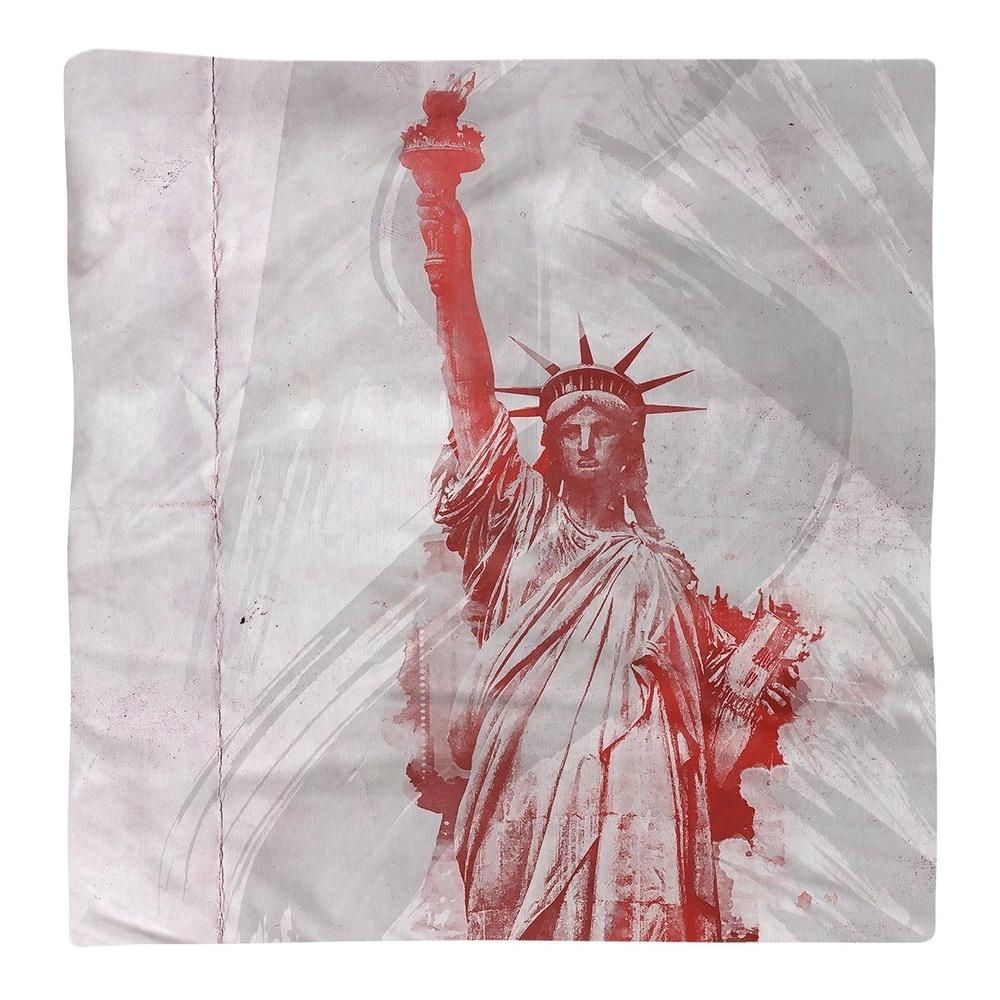 Shop Watercolor Statue of Liberty Napkin - Overstock - 28527910