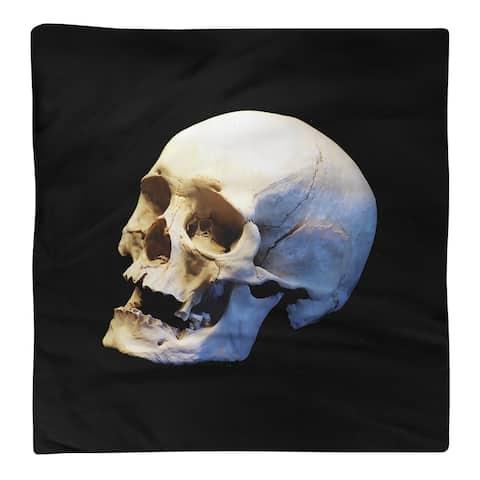 Skull on Black Background Napkin