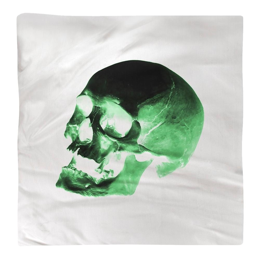 Shop Skull on White Background Napkin - Overstock - 28527921