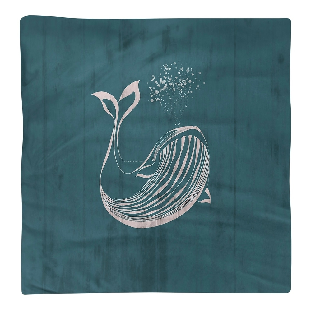 Shop Rustic Blue Whale Napkin - Overstock - 28527922