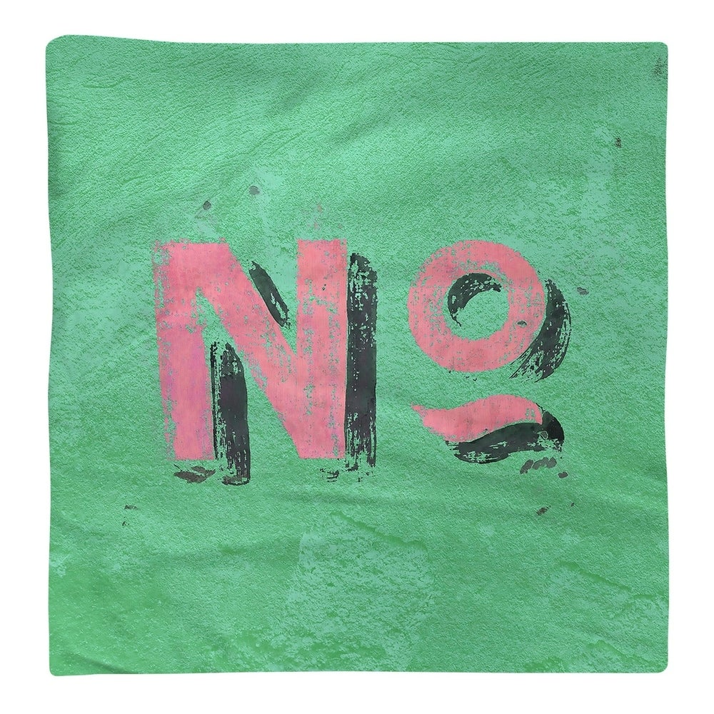 Shop No Graphic Wall Napkin - Overstock - 28527930