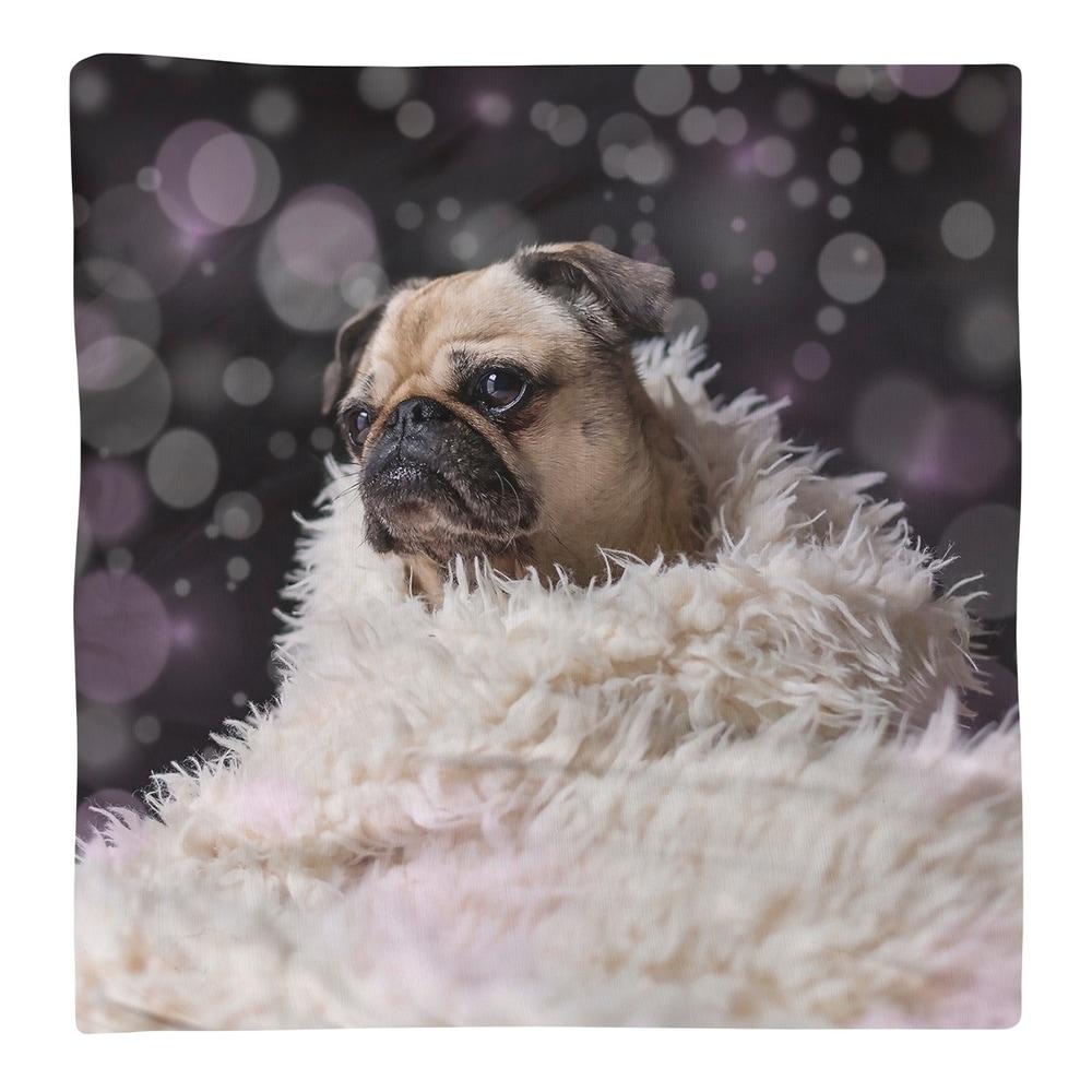 Shop Pug in Blanket Napkin - Overstock - 28527940