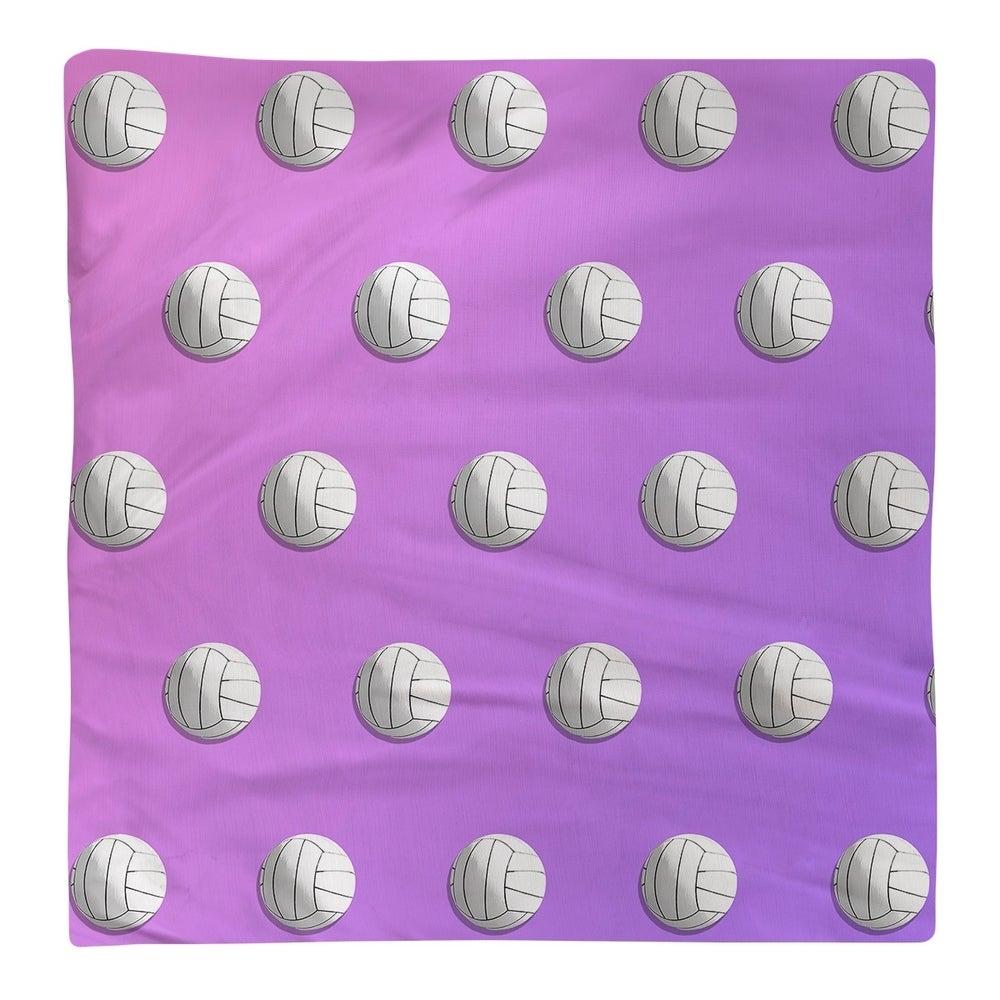 Shop Volleyball Pattern Napkin - Overstock - 28527942