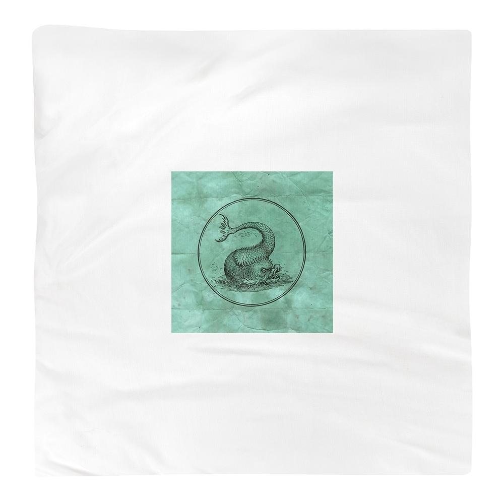 Shop Vintage Sea Monster Napkin - Overstock - 28528004