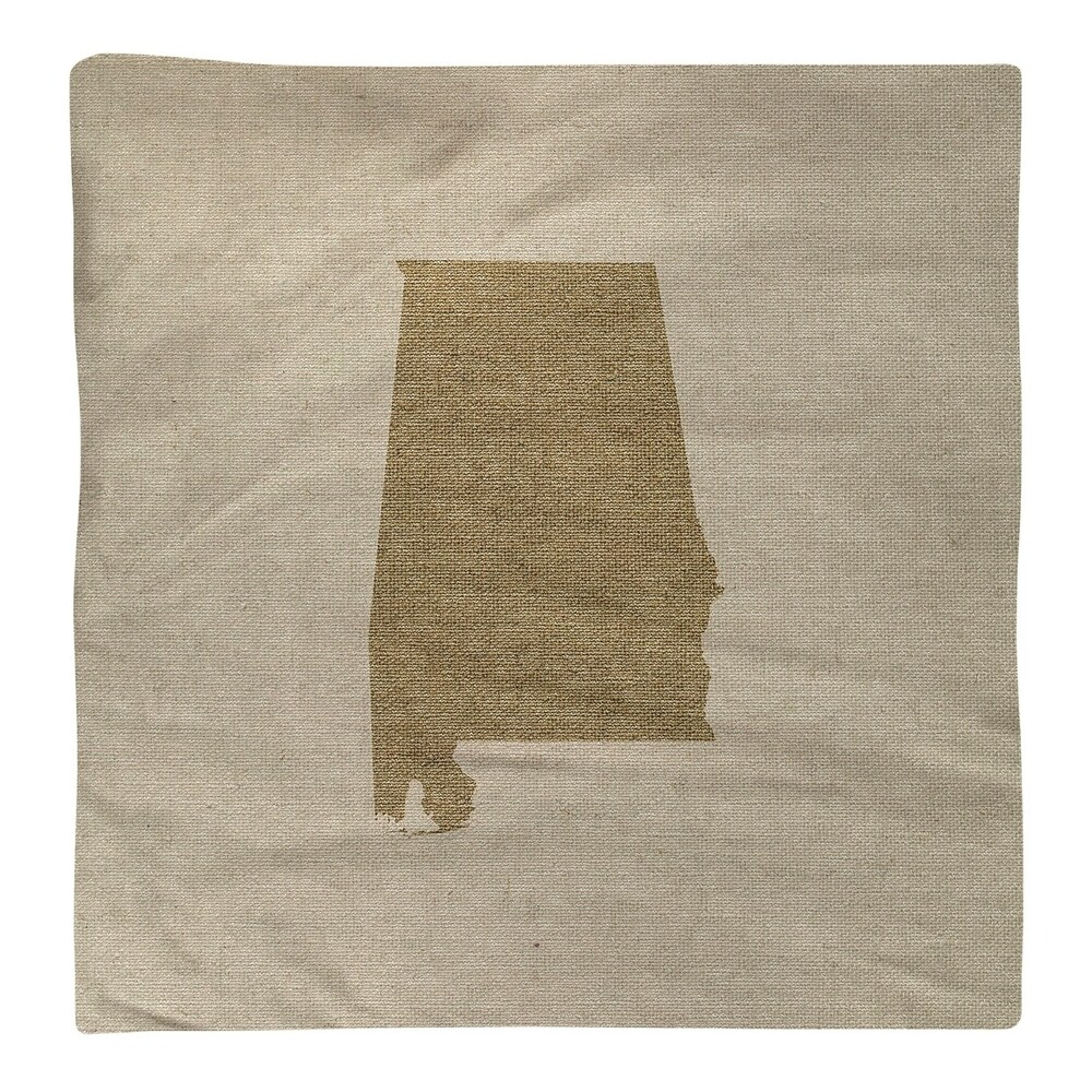 Shop Alabama Silhouette Napkin - Overstock - 28528010