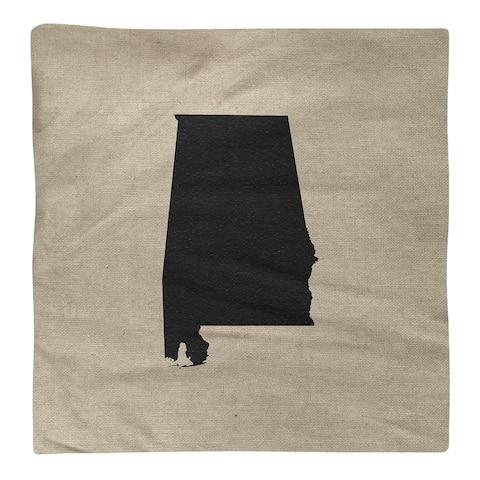 Alabama Silhouette Napkin
