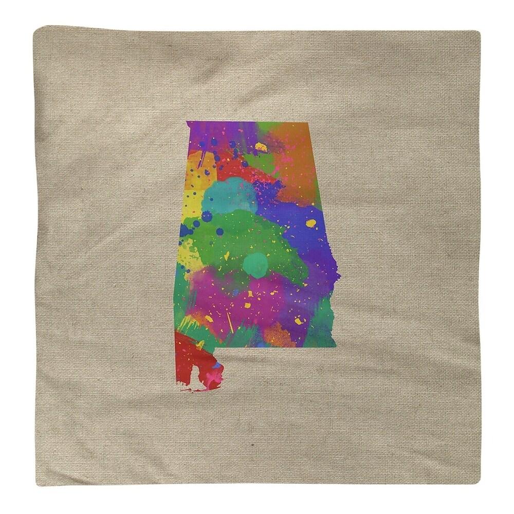 Shop Alabama Watercolor Napkin - Overstock - 28528011