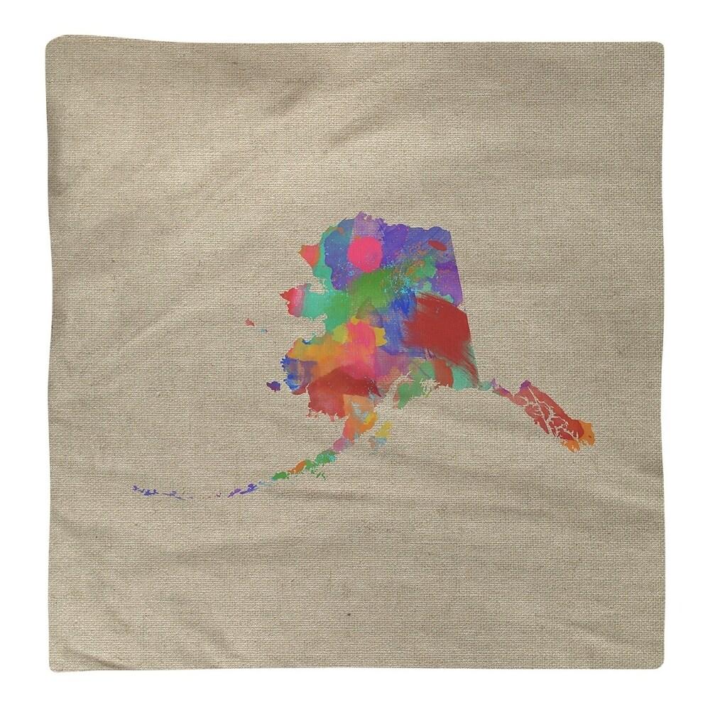 Shop Alaska Watercolor Napkin - Overstock - 28528015