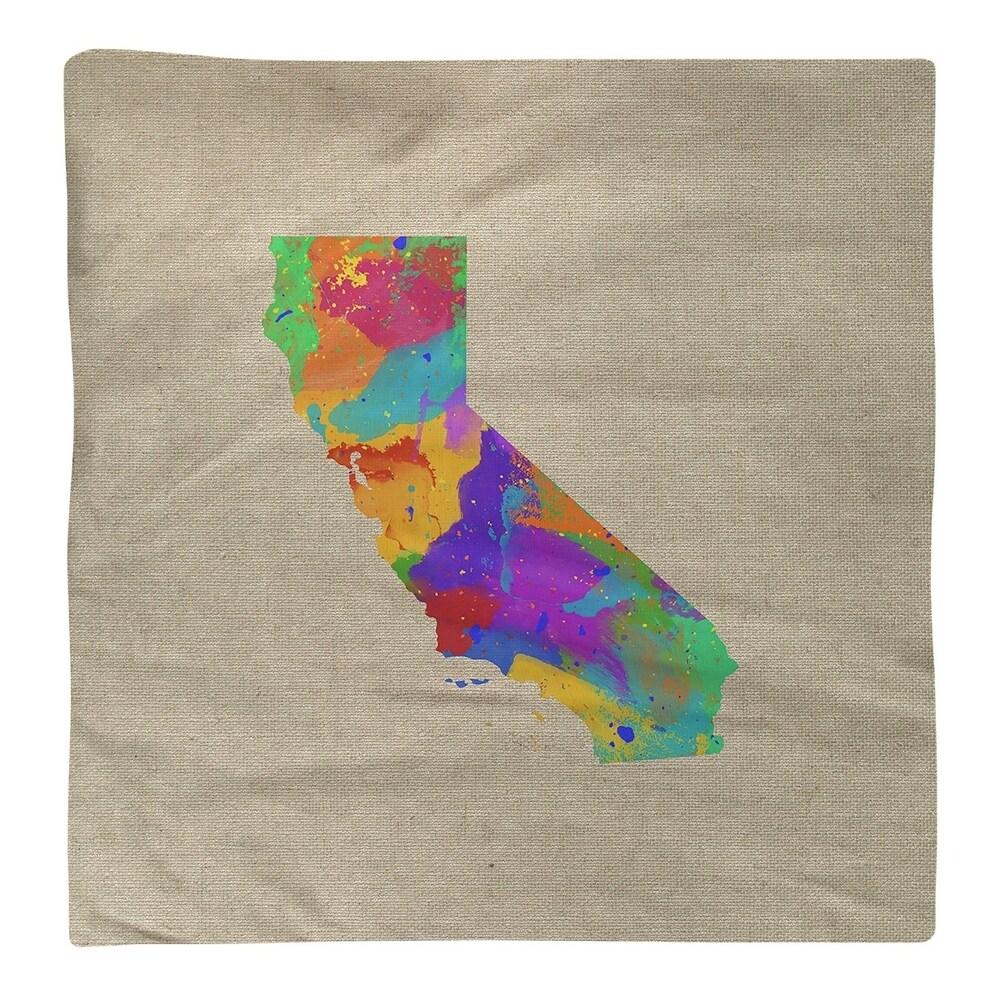 Shop California Watercolor Napkin - Overstock - 28528024