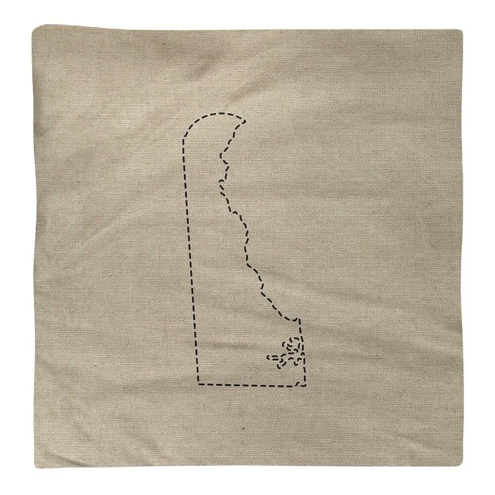 Shop Delaware Silhouette Napkin - Overstock - 28528030