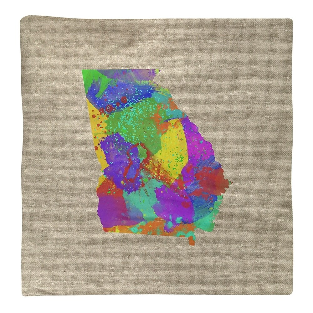 Shop Georgia Watercolor Napkin - Overstock - 28528040