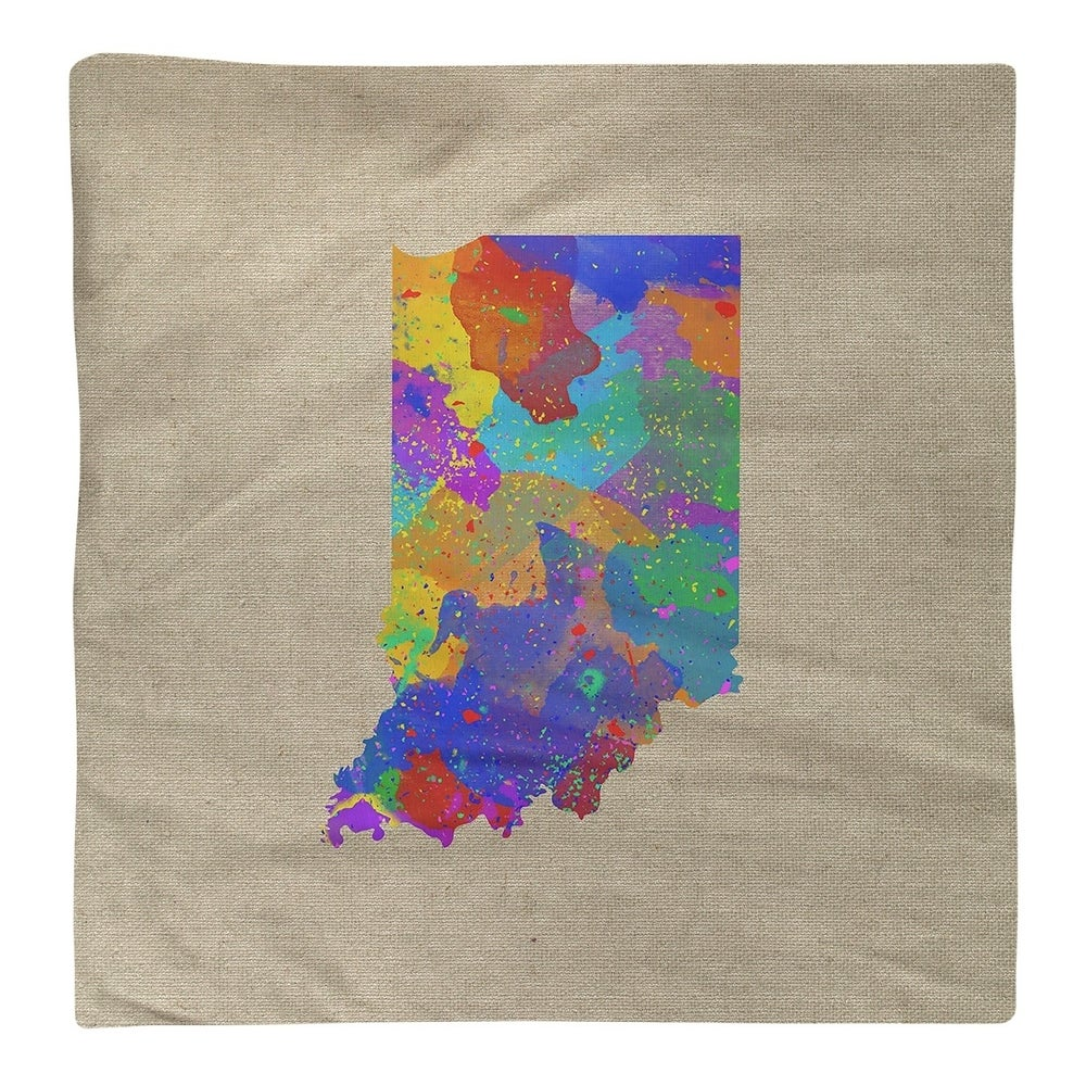 Shop Indiana Watercolor Napkin - Overstock - 28528048