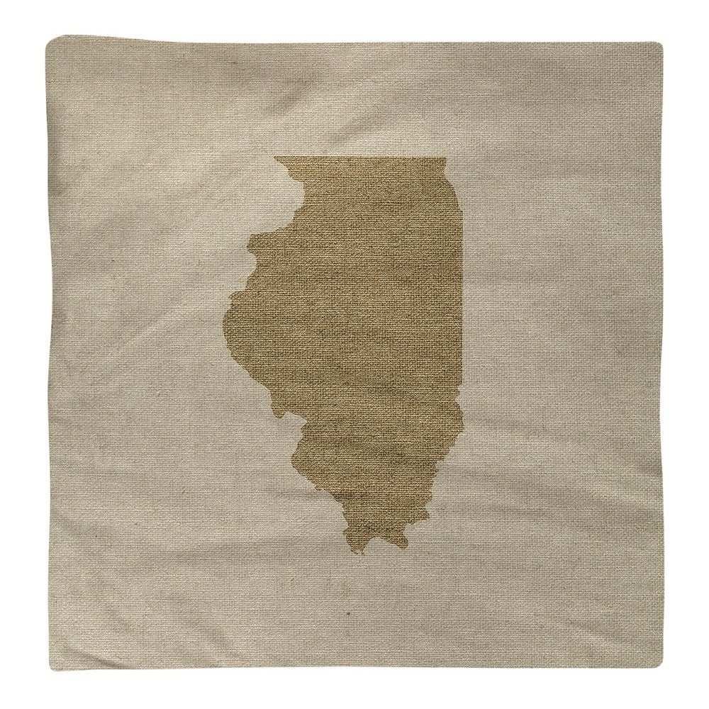 Shop Illinois Silhouette Napkin - Overstock - 28528051