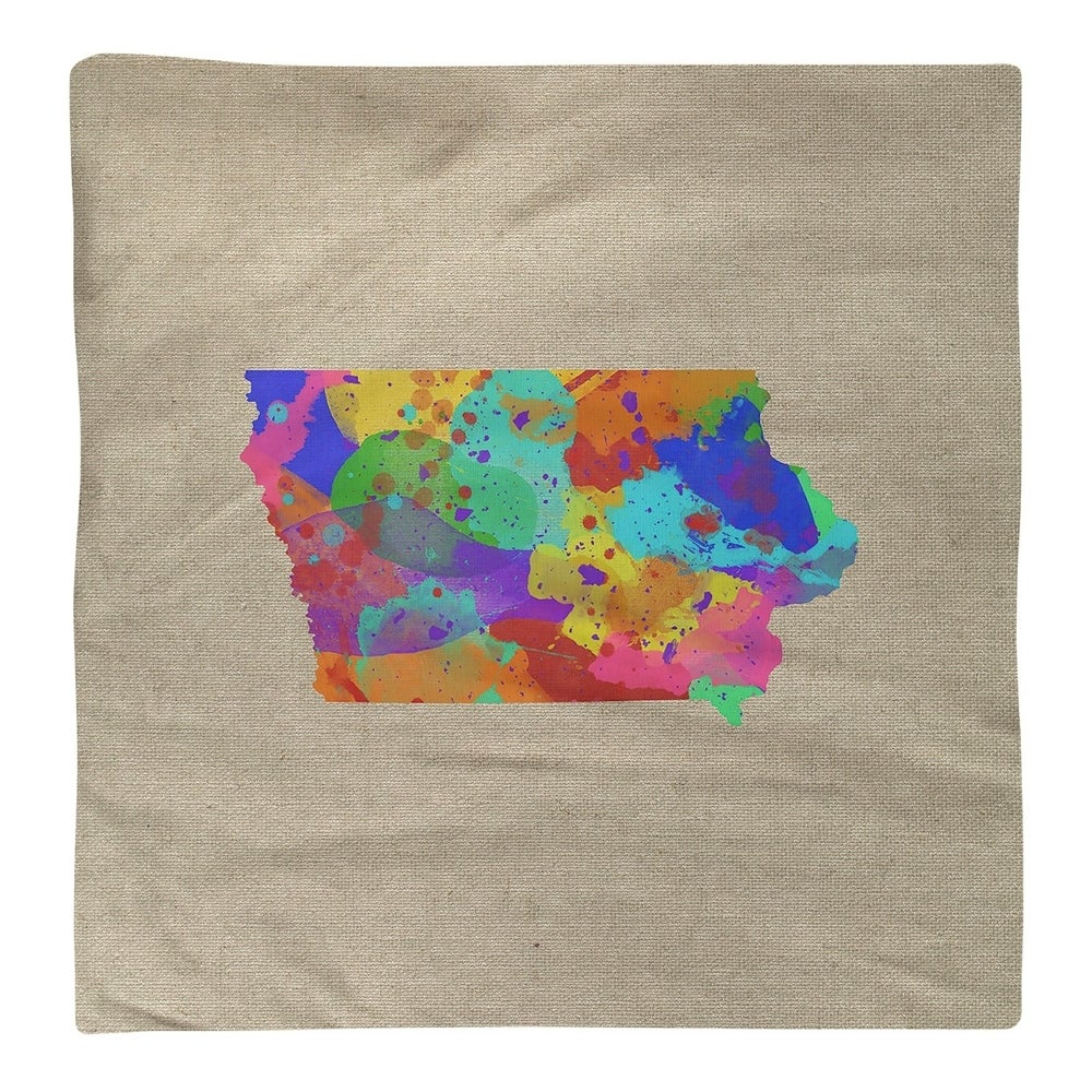 Shop Iowa Watercolor Napkin - Overstock - 28528056