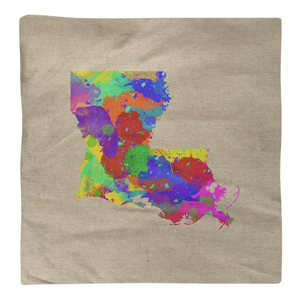 Shop Louisiana Watercolor Napkin - Overstock - 28528069