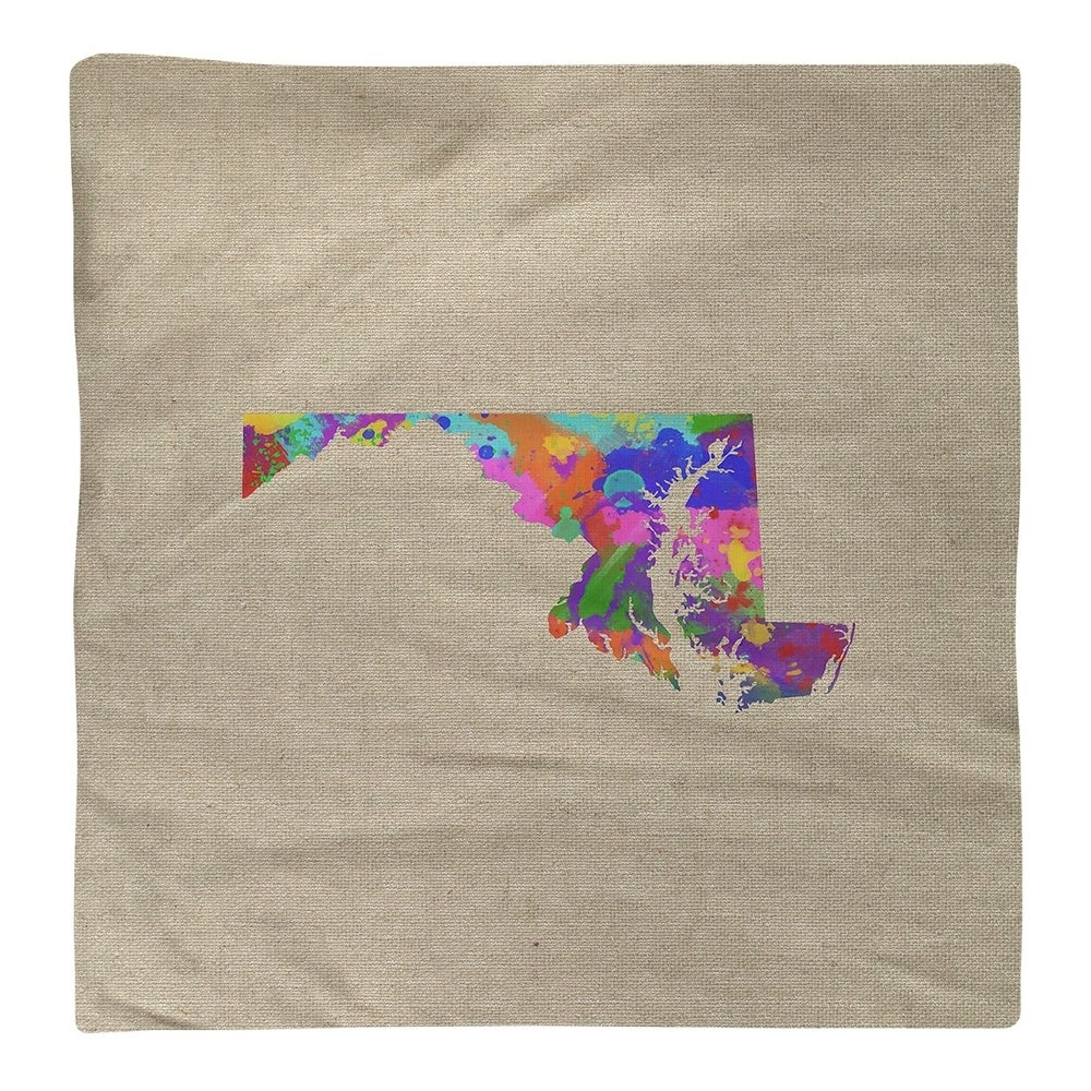 Shop Maryland Watercolor Napkin - Overstock - 28528075