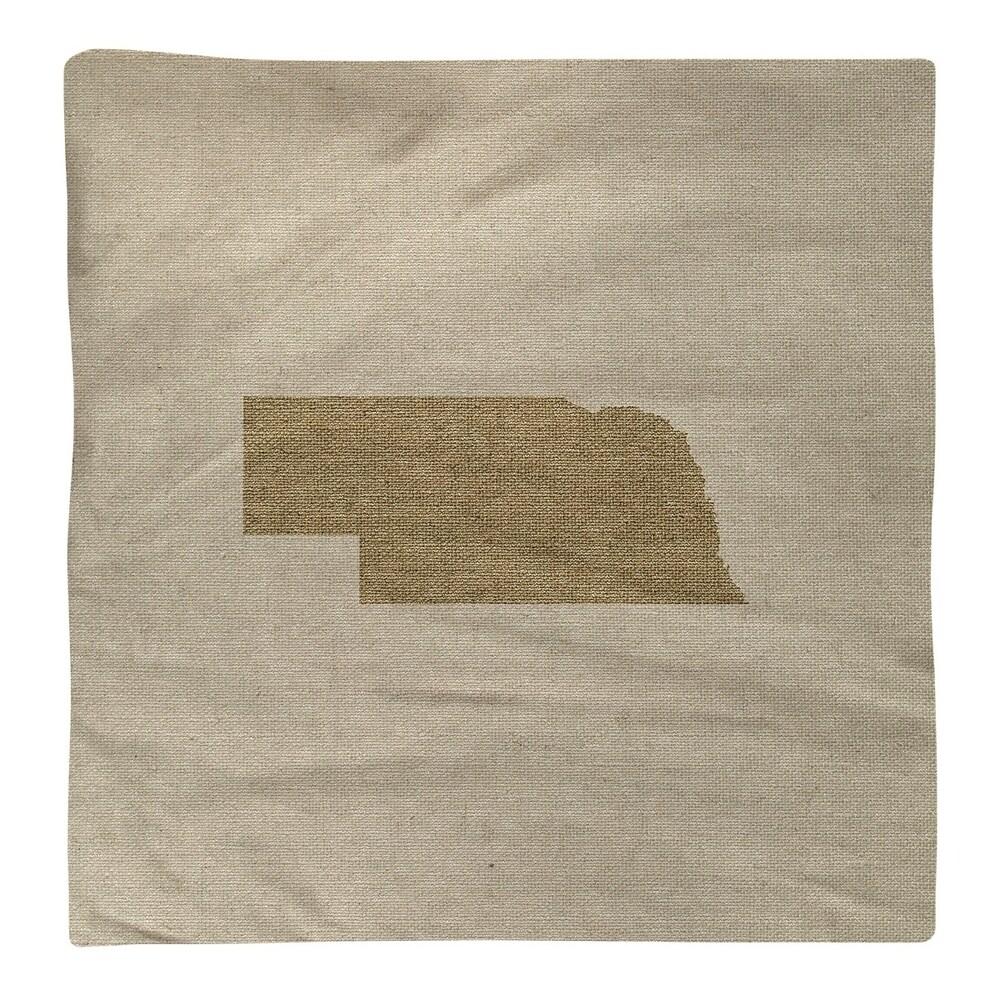 Shop Nebraska Silhouette Napkin - Overstock - 28528098