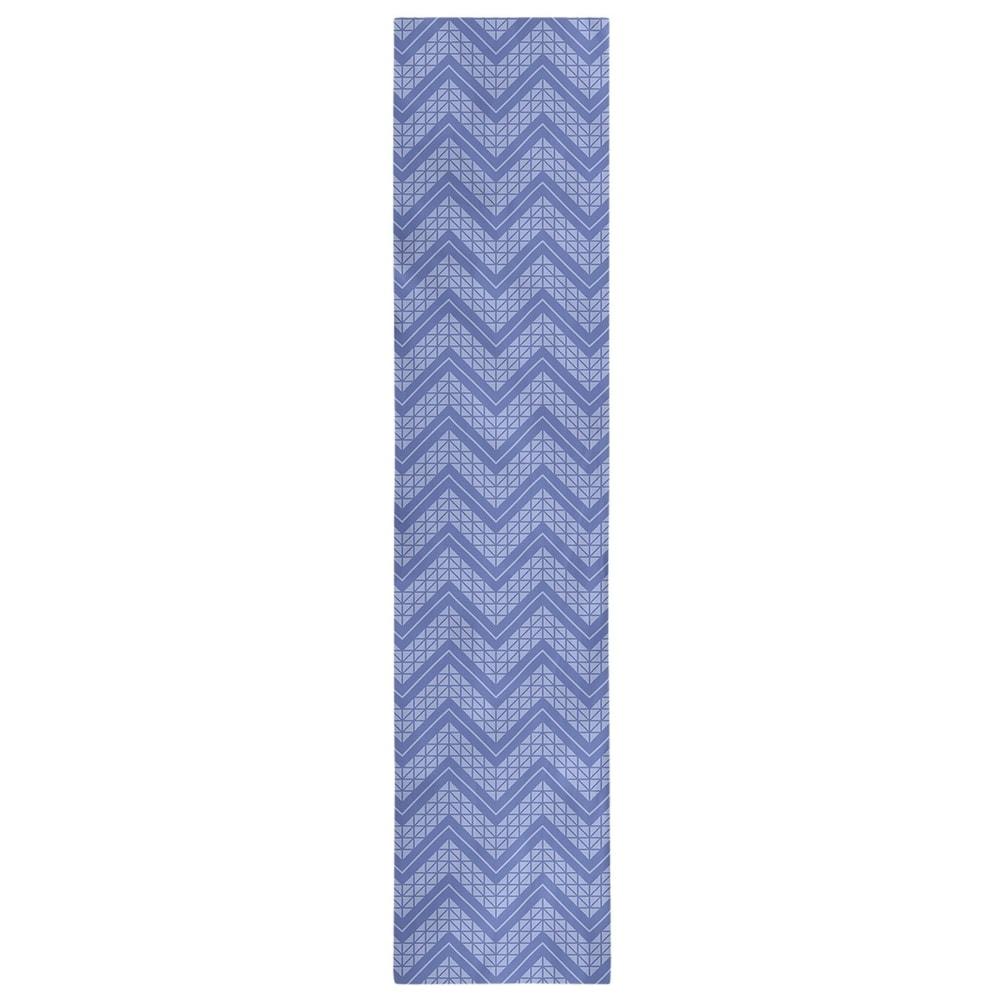 Shop Monochromatic Hand Drawn Chevron Pattern Table Runner - Overstock - 28528113