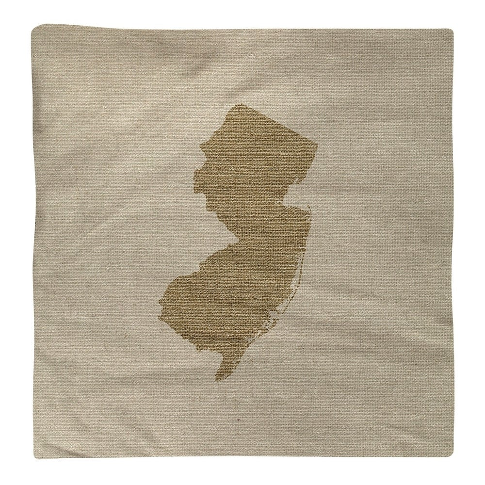Shop New Jersey Silhouette Napkin - Overstock - 28528121