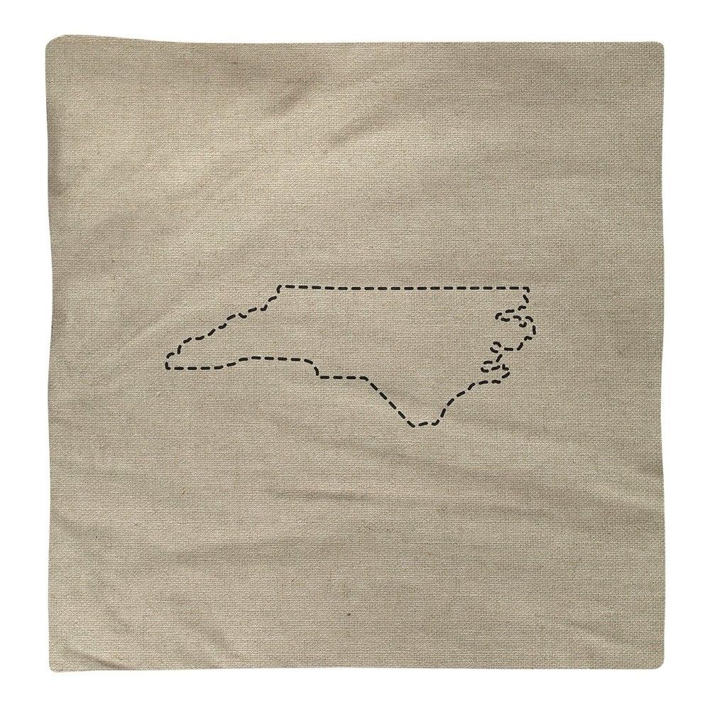 Shop North Carolina Silhouette Napkin - Overstock - 28528140