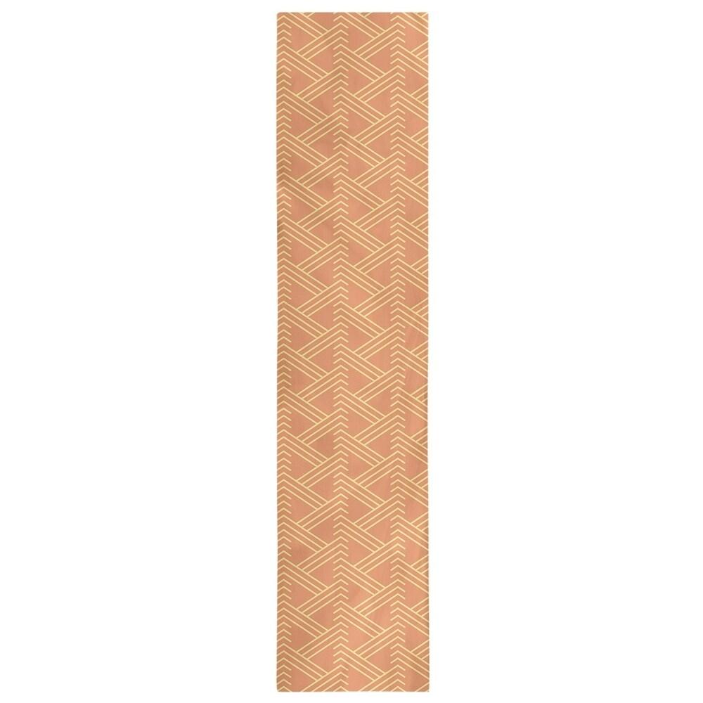 Shop Full Color Zig Zag Pattern Table Runner - Overstock - 28528142