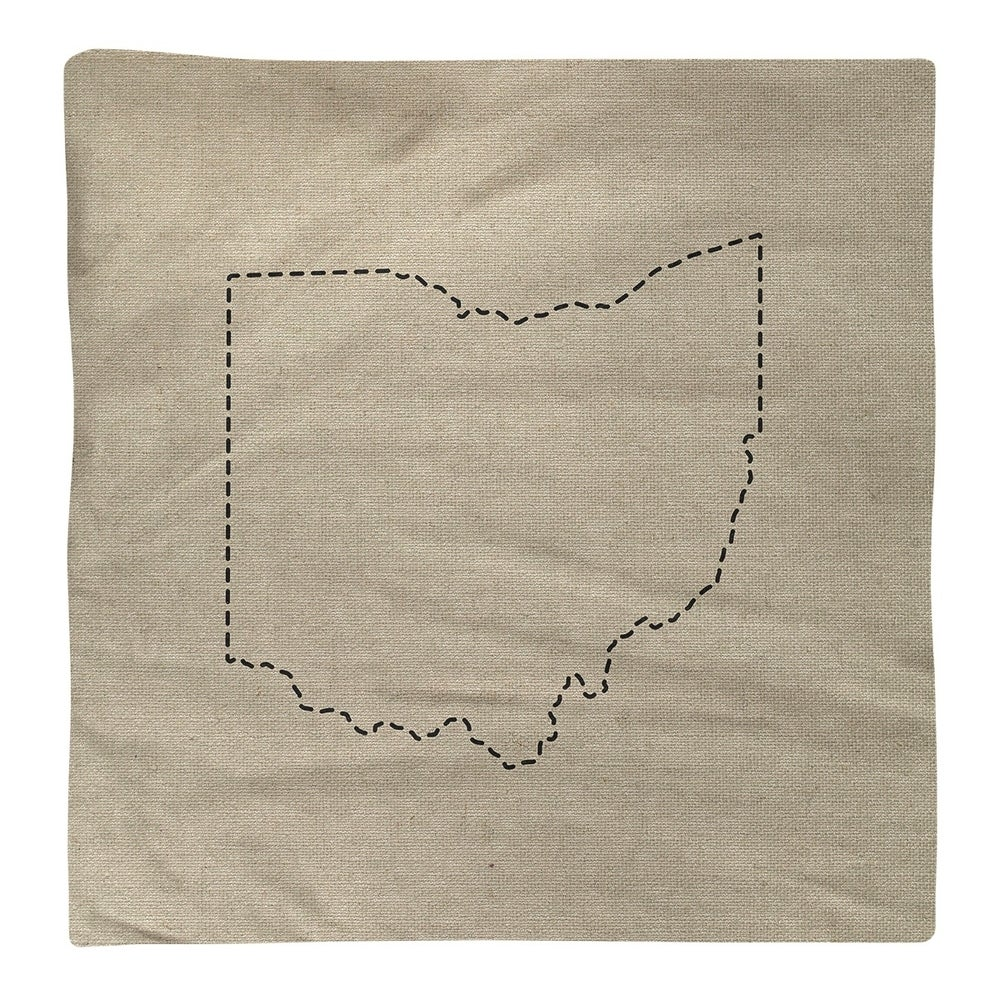 Shop Ohio Silhouette Napkin - Overstock - 28528154