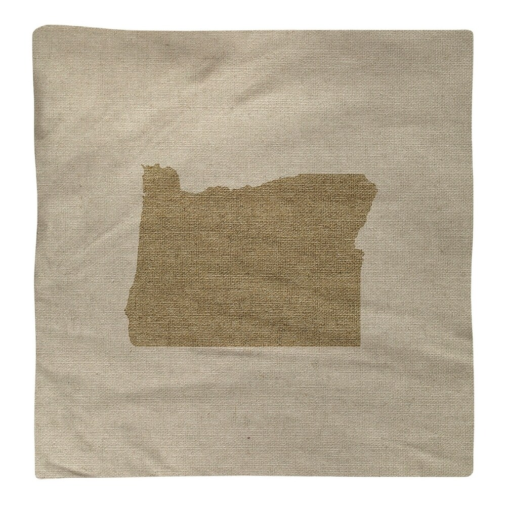 Shop Oregon Silhouette Napkin - Overstock - 28528164