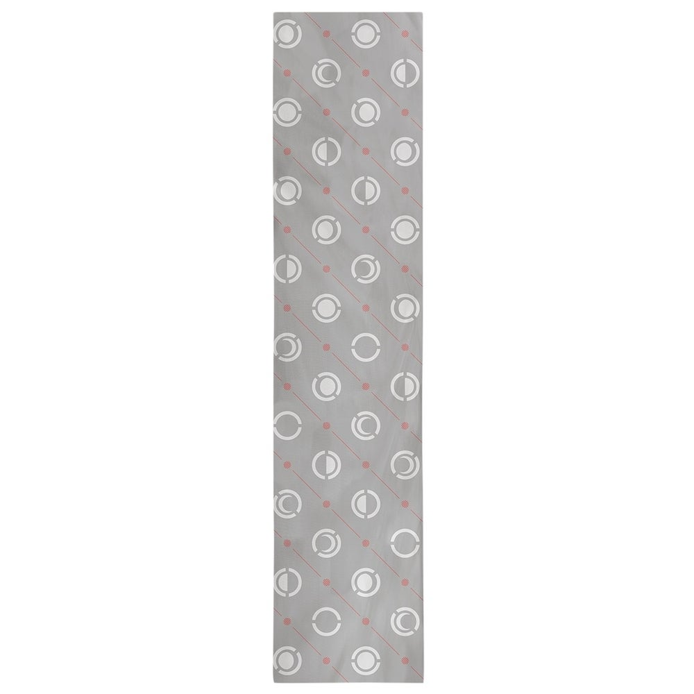 Shop Gray Color Accent Moon Phases Table Runner - Overstock - 28528186