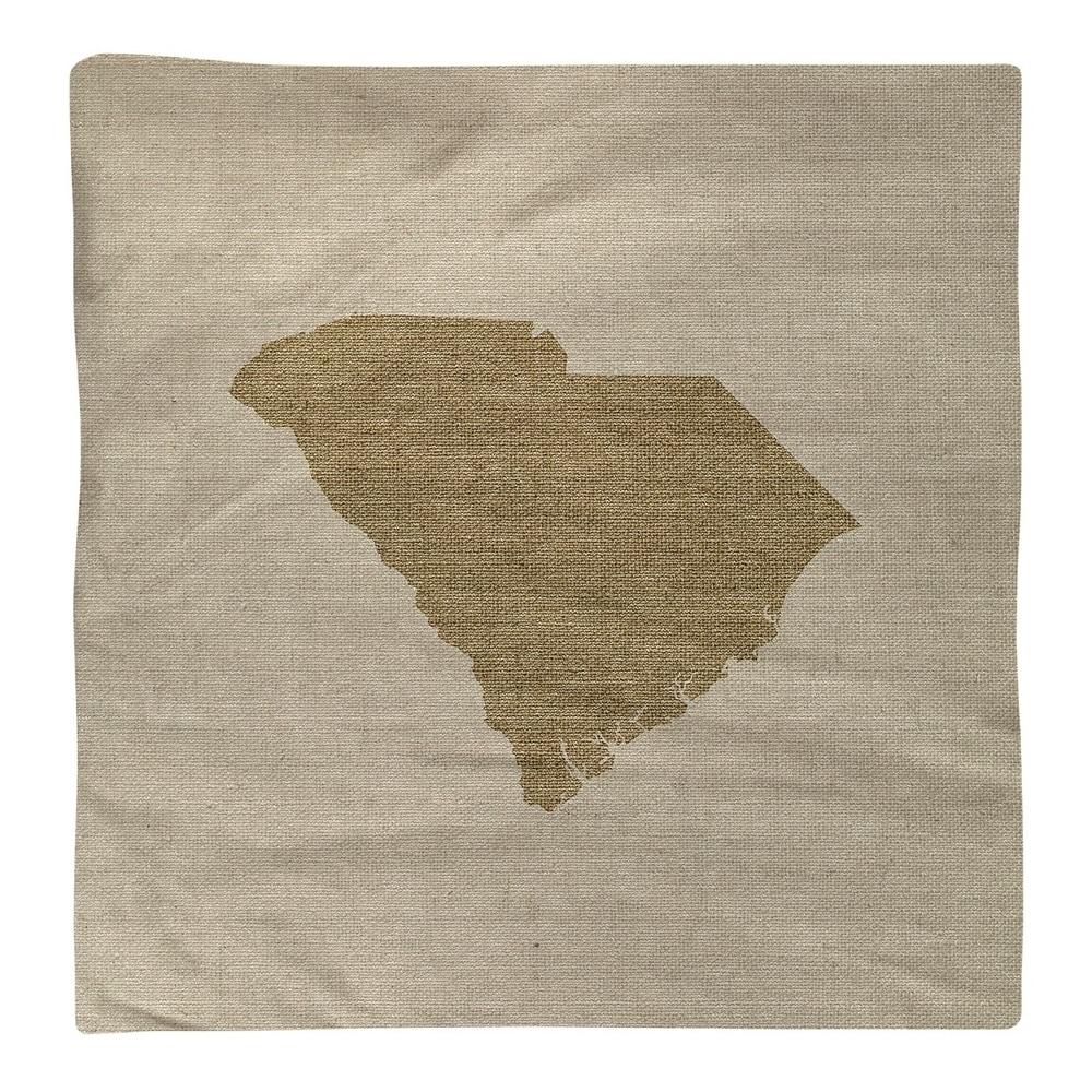 Shop South Carolina Silhouette Napkin - Overstock - 28528188