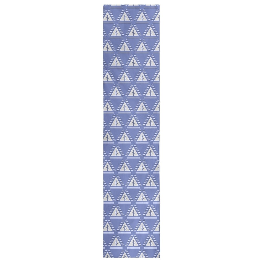 Shop Classic Minimalist Tree Pattern Table Runner - Overstock - 28528190