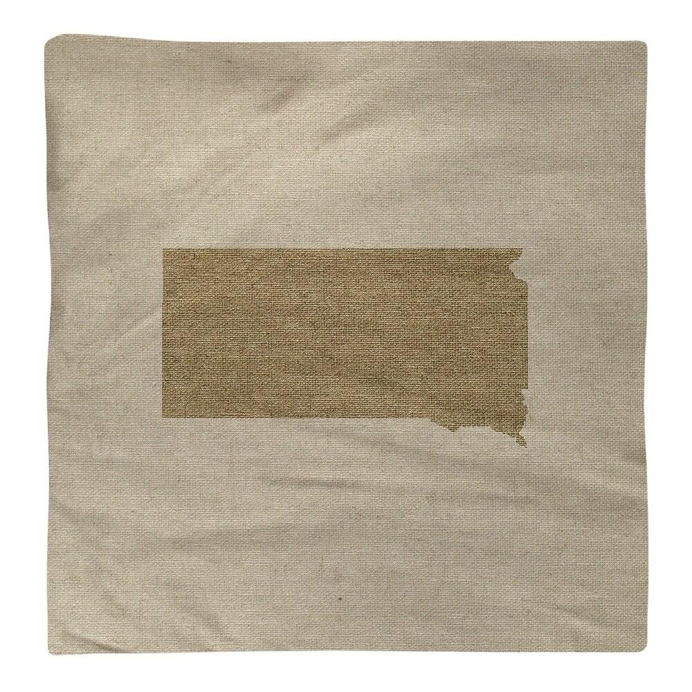 Shop South Dakota Silhouette Napkin - Overstock - 28528191