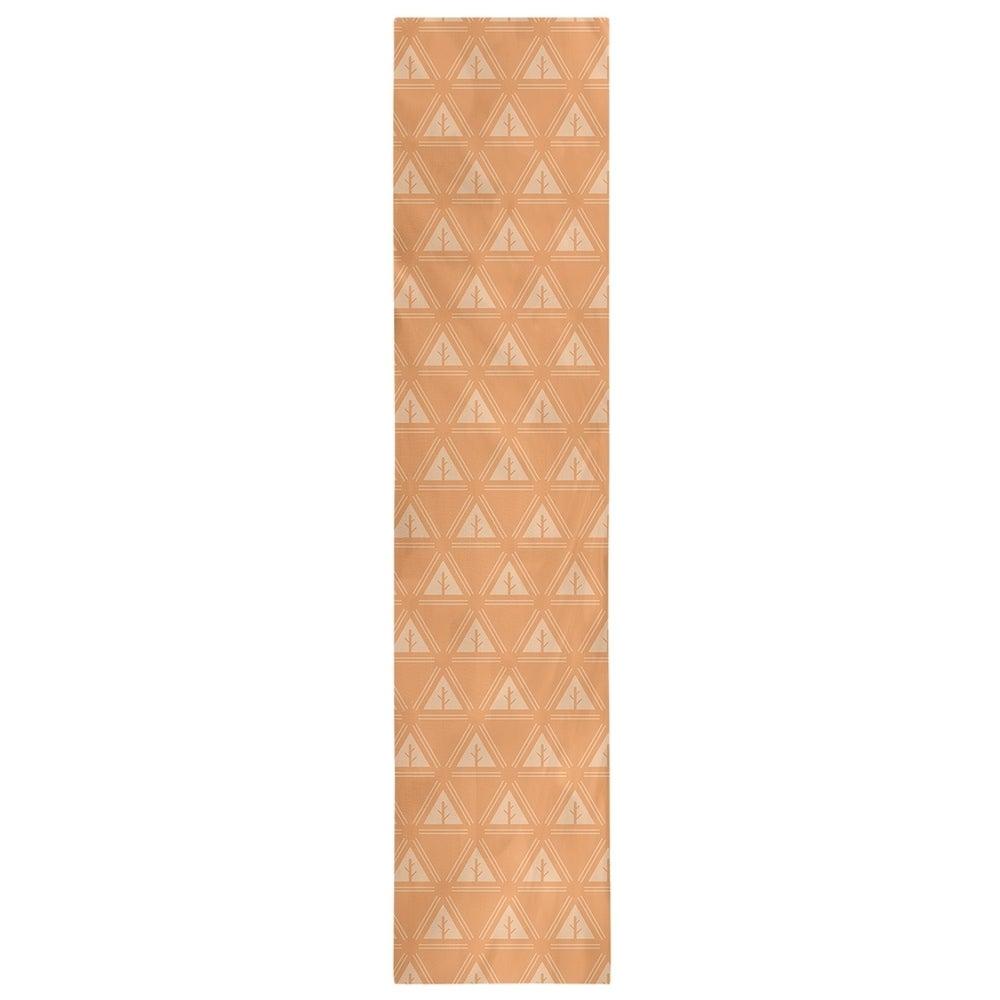 Shop Monochrome Minimalist Tree Pattern Table Runner - Overstock - 28528196
