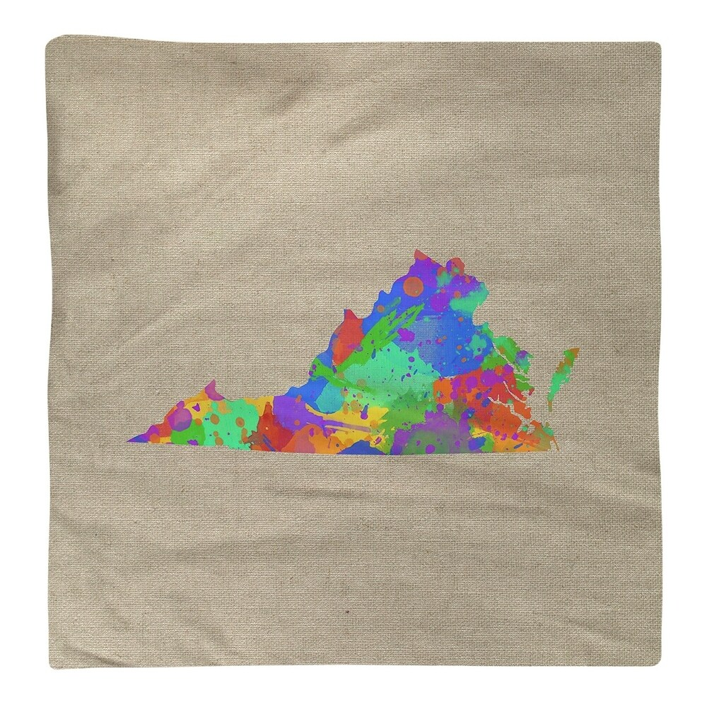 Shop Virginia Watercolor Napkin - Overstock - 28528228