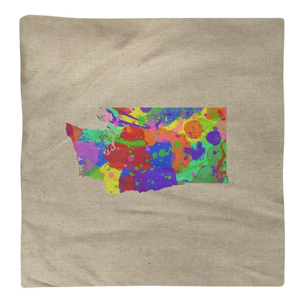 Shop Washington Watercolor Napkin - Overstock - 28528231
