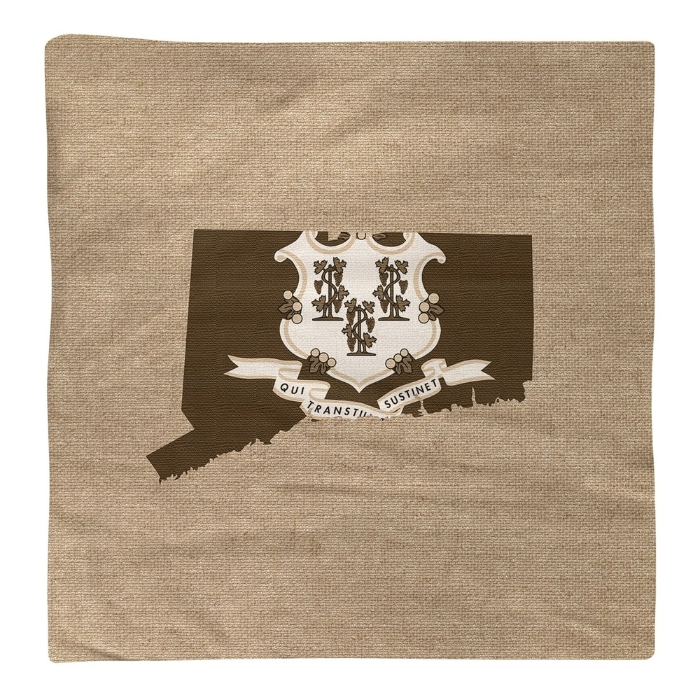 Shop Connecticut State Napkin - Overstock - 28528252