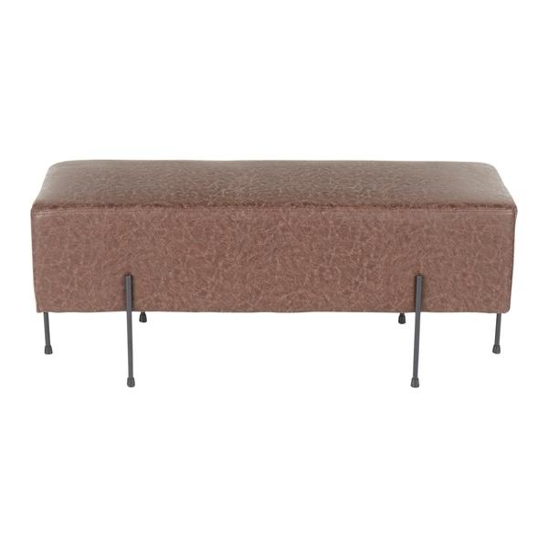 Strick & Bolton Blythe Upholstered Bench - N/A. Opens flyout.