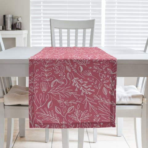 Classic Ditsy Floral Pattern Table Runner