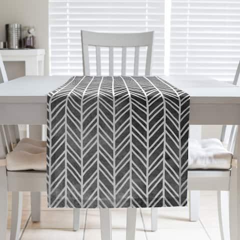 Herringbone Pattern Table Runner