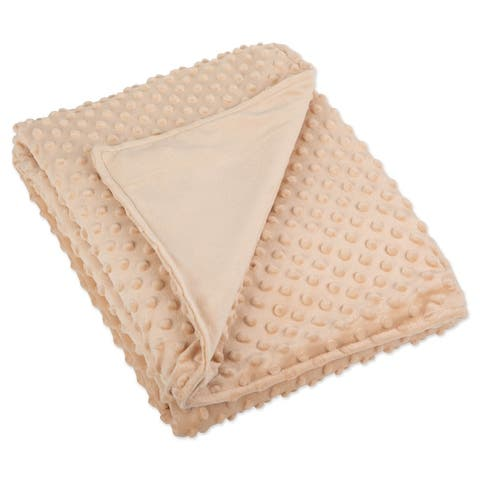 DII Minky Dot Weighted Blanket Cover