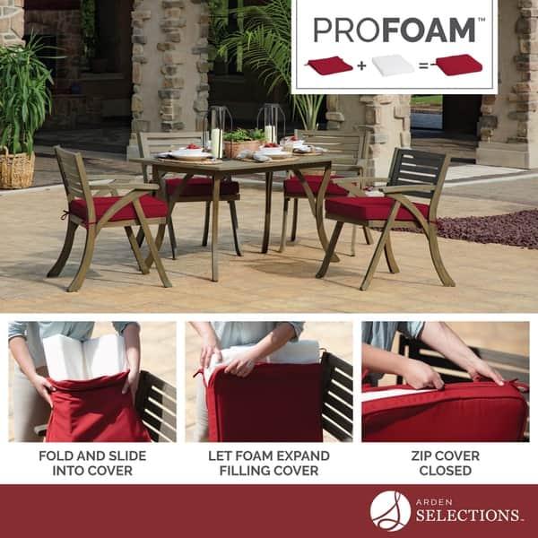 Arden Selections Profoam Caliente Acrylic Bench Cushion Overstock 28528789
