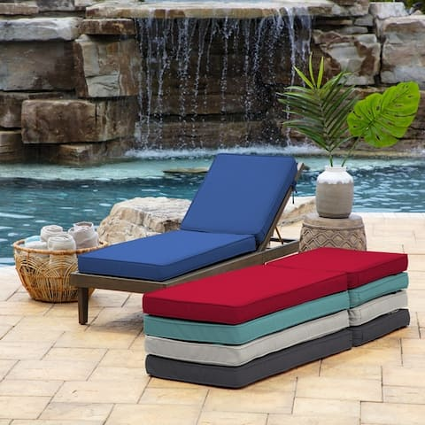 Arden Selections ProFoam Chaise Acrylic Lounge Cushion