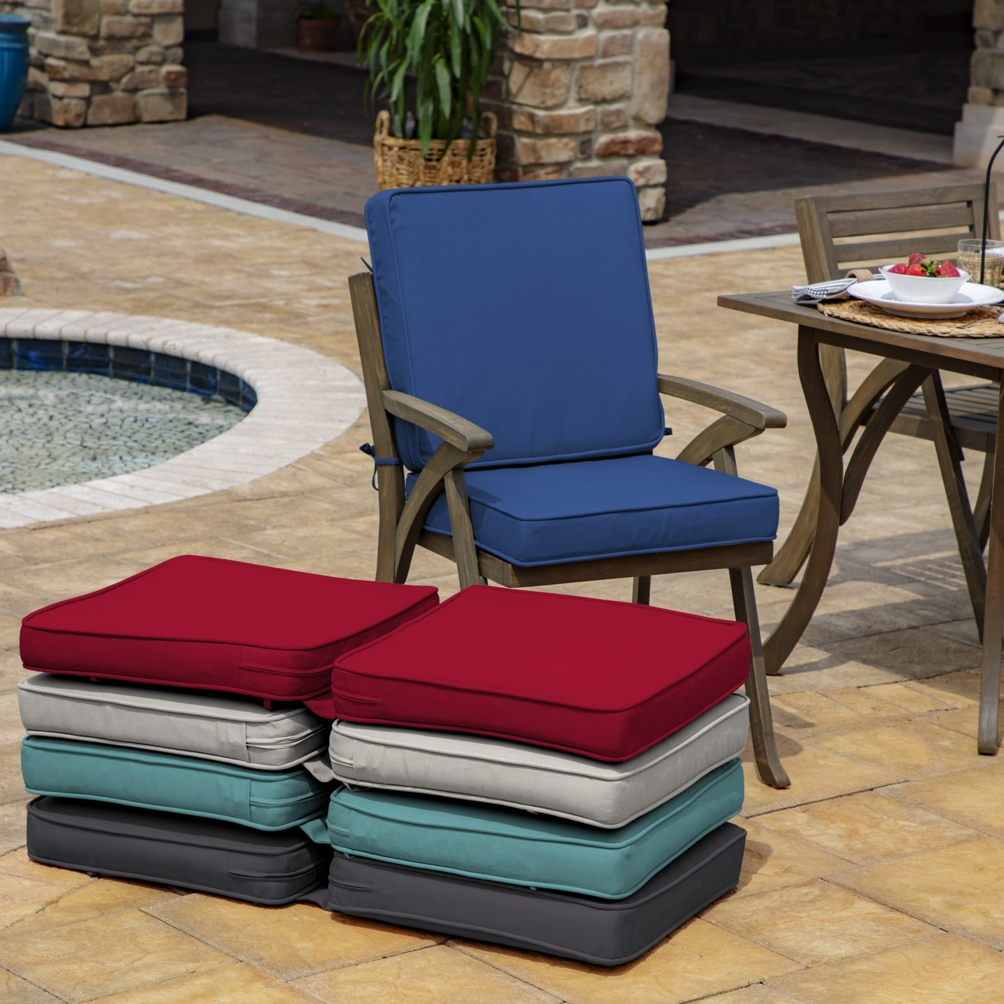 Shop For Arden Selections Profoam Acrylic High Back Chair Cushion 40 L X 20 W X 3 5 H In Get Free Delivery On Everything At Overstock Your Online Garden Patio Shop Get 5 In Rewards With Club O 28528815