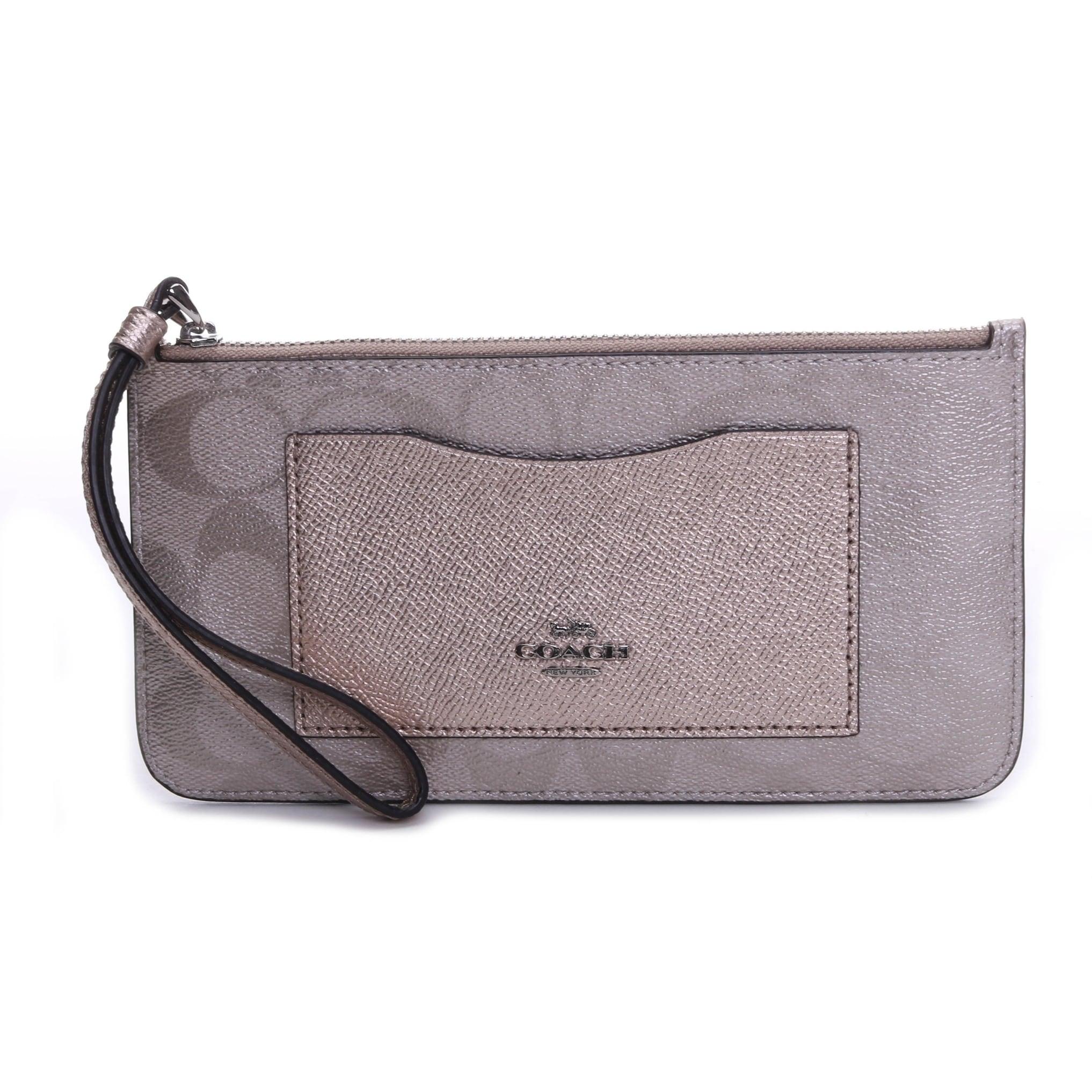 Coach Women S Zip Top Wallet Wristlet Overstock 28528827
