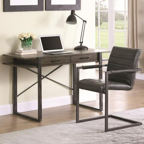Modern Industrial Design Home Office Desk with Chair