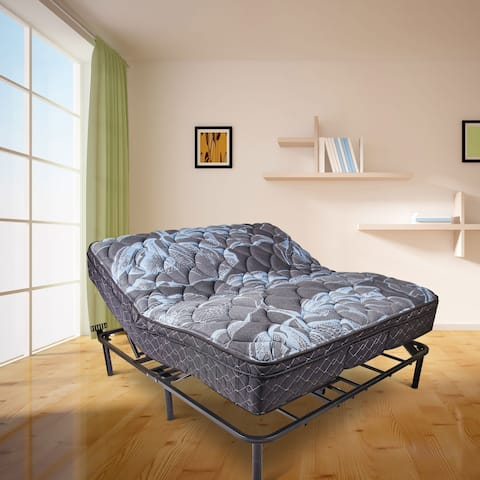 Wolf Corporation's King Size Adjustable Bed Base with Wireless Remote